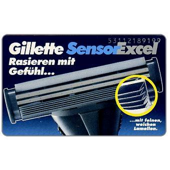 The Phonecard Shop: Gillette, 12 DM