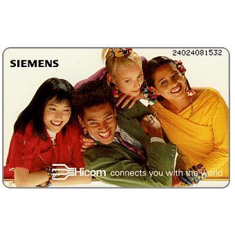 The Phonecard Shop: Siemens Hicom, 6 DM