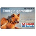 The Phonecard Shop: Hagen Batterie, dog, 50 DM
