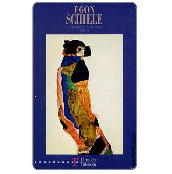 The Phonecard Shop: Egon Schiele, 12 DM
