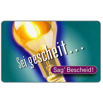 The Phonecard Shop: Sag' Bescheid, 12 DM