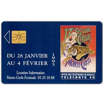 The Phonecard Shop: 17e Festival du Cirque, 50 units