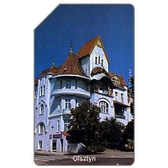 The Phonecard Shop: Olsztyn, white house, 25 units