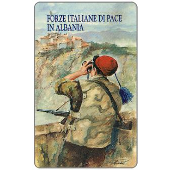 The Phonecard Shop: ATW - Forze Italiane di Pace in Albania - Vedetta