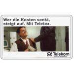 The Phonecard Shop: Teletex, 12 DM