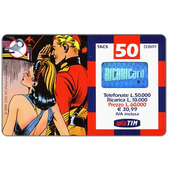 The Phonecard Shop: TIM - Flash Gordon and Dale from behind, 50 units