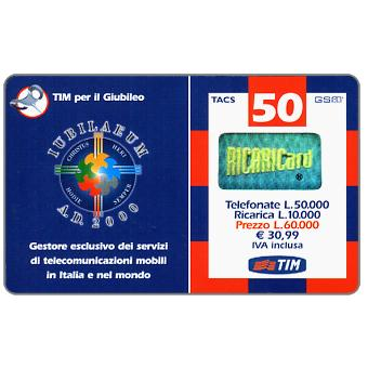 The Phonecard Shop: TIM - Jubilaeum 2000, 50 units