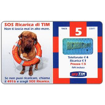 The Phonecard Shop: TIM - SOS Ricarica di TIM, 5 units