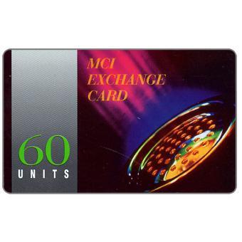 The Phonecard Shop: MCI - phone handset, green value, 60 units