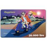 The Phonecard Shop: C3-Tele2 - Happiness, 20.000 lire