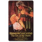 The Phonecard Shop: Movie Card Collection, Rudolph Valentino (promo card)
