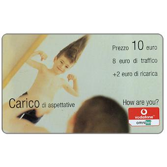 The Phonecard Shop: Vodafone Omnitel - Carico di aspettative, 10 euro