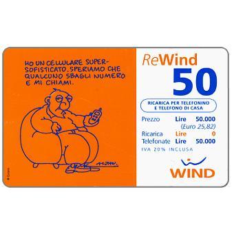 The Phonecard Shop: Wind - Altan, 50 units
