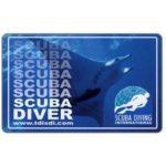 The Phonecard Shop: Scuba Diving International (certification card)