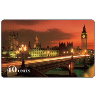 The Phonecard Shop: Sprint - London, Parliament and Big Ben, 40 units