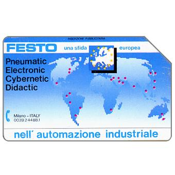 Phonecard for sale: Festo, 30.06.91, L.10000