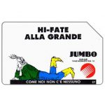Phonecard for sale: Jumbo - Hi-fate alla grande, 31.12.92, L.10000