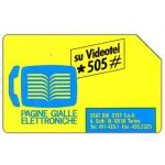 The Phonecard Shop: Italy, Pagine Gialle Elettroniche, 30.06.93, L.5000