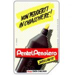 The Phonecard Shop: Pentel Data Checker, 30.06.93, L.5000