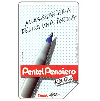 Phonecard for sale: Pentel Krea, 30.06.93, L.5000