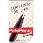 The Phonecard Shop: Italy, Pentel Matito, 30.06.93, L.5000