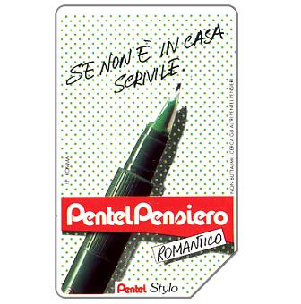 Phonecard for sale: Pentel Stylo, 30.06.93, L.5000