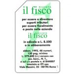 The Phonecard Shop: Italy, Il Fisco, 30.06.93, L.5000
