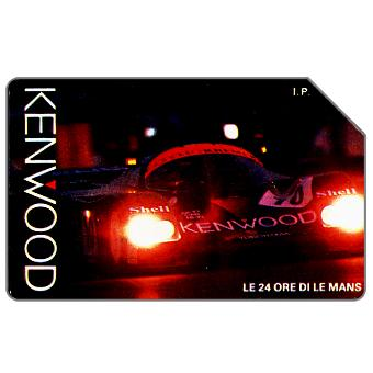 Phonecard for sale: Kenwood - Le 24 ore di Le Mans, 30.06.93, L.10000