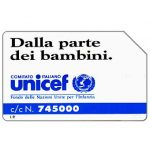 The Phonecard Shop: Unicef, 30.06.93, L.10000