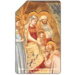 The Phonecard Shop: Giotto, Adorazione dei Magi, Christmas '91, 30.06.93, L.10000
