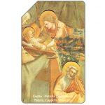 The Phonecard Shop: Giotto, Natività, Christmas '91, 30.06.93, L.10000