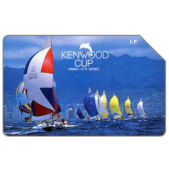 Phonecard for sale: Kenwood Cup - Hawaii I.O.R. Series, 31.12.93, L.10000