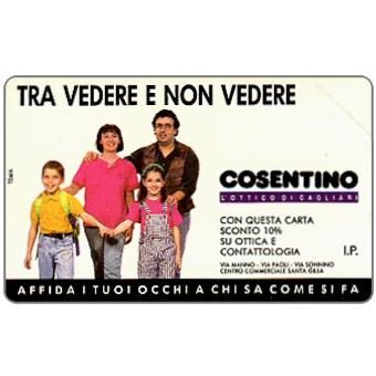 Phonecard for sale: Ottica Cosentino, 30.06.94, L.5000