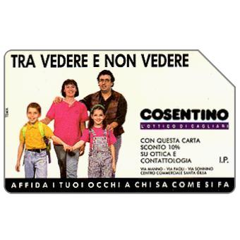 Phonecard for sale: Ottica Cosentino, 30.06.94, L.10000