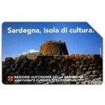 The Phonecard Shop: Italy, Sardegna, isola di cultura, 30.06.94, L.10000