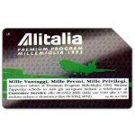 The Phonecard Shop: Italy, Alitalia Premium Program Millemiglia 1993, 31.12.94, L.10000