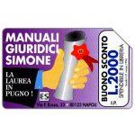 The Phonecard Shop: Italy, Edizioni Simone, Manuali Giuridici, La laurea in pugno, 30.06.95, L.5000