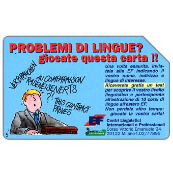 The Phonecard Shop: EF - Centri linguistici, 30.06.95, L.5000