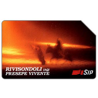 Phonecard for sale: Rivisondoli, Presepe vivente, 30.06.95, L.10000