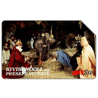Phonecard for sale: Rivisondoli, Presepe vivente, 30.06.95, L.15000