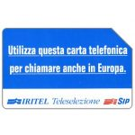 The Phonecard Shop: IRITEL Teleselezione, 30.06.95, L.10000