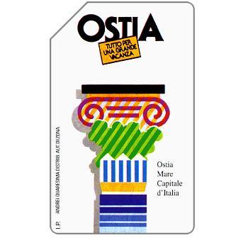 Phonecard for sale: Ostia, 31.12.95, L.5000