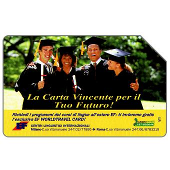 Phonecard for sale: EF Centri Linguistici Internazionali, 31.12.95, L.10000