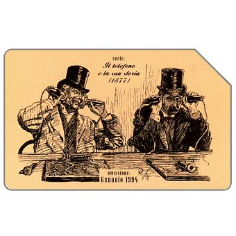 Phonecard for sale: Il telefono e la sua storia, 1877, 31.12.95, L.5000