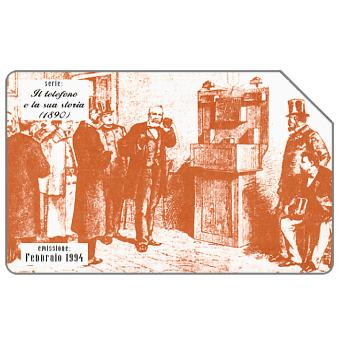 Phonecard for sale: Il telefono e la sua storia, 1890, 31.12.95, L.5000