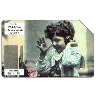 Phonecard for sale: Il telefono e la sua storia, 1906, 31.12.95, L.5000