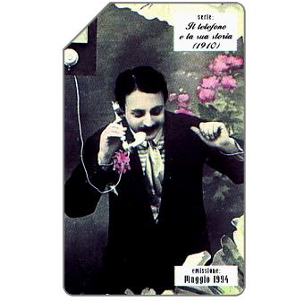 Phonecard for sale: Il telefono e la sua storia, 1910, 31.12.95, L.5000