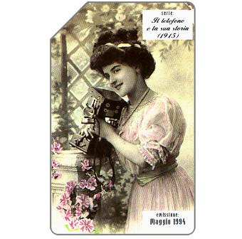 Phonecard for sale: Il telefono e la sua storia, 1915, 31.12.95, L.10000