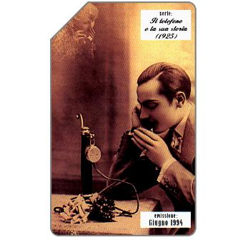 Phonecard for sale: Il telefono e la sua storia, 1925, 31.12.95, L.5000