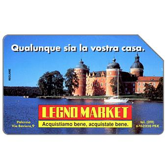 Phonecard for sale: Legno Market, 31.12.95, L.10000